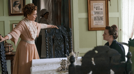 The interiors come to life in this movie adaptation of Chekhov's The Seagull