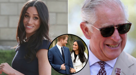 Prince Charles will be walking Meghan Markle down the aisle at the Royal Wedding