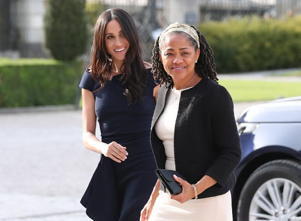 Meghan Markle and Doria Ragland (Source: Getty Images)