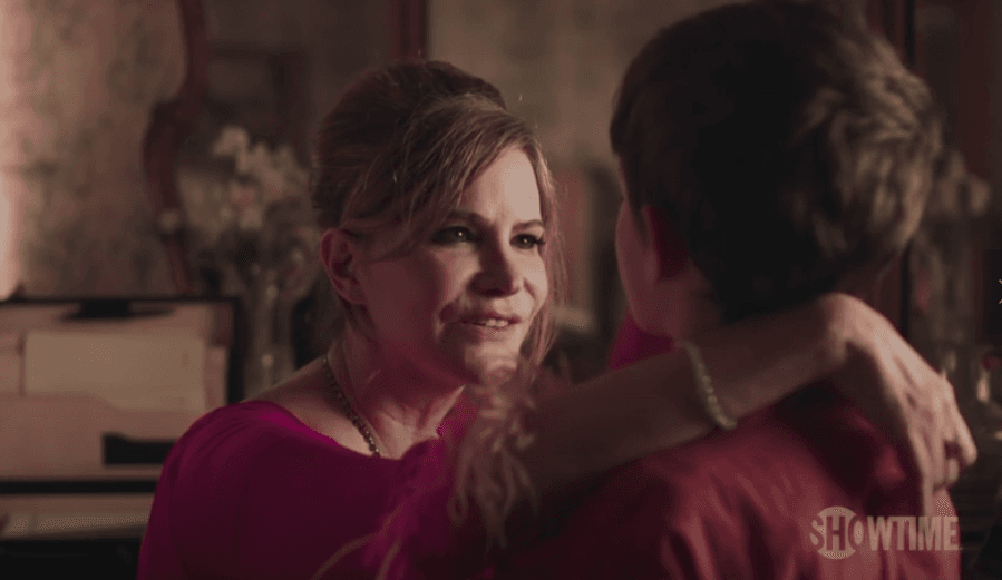 We also get a first look at Patrick's mother (Source: Showtime)