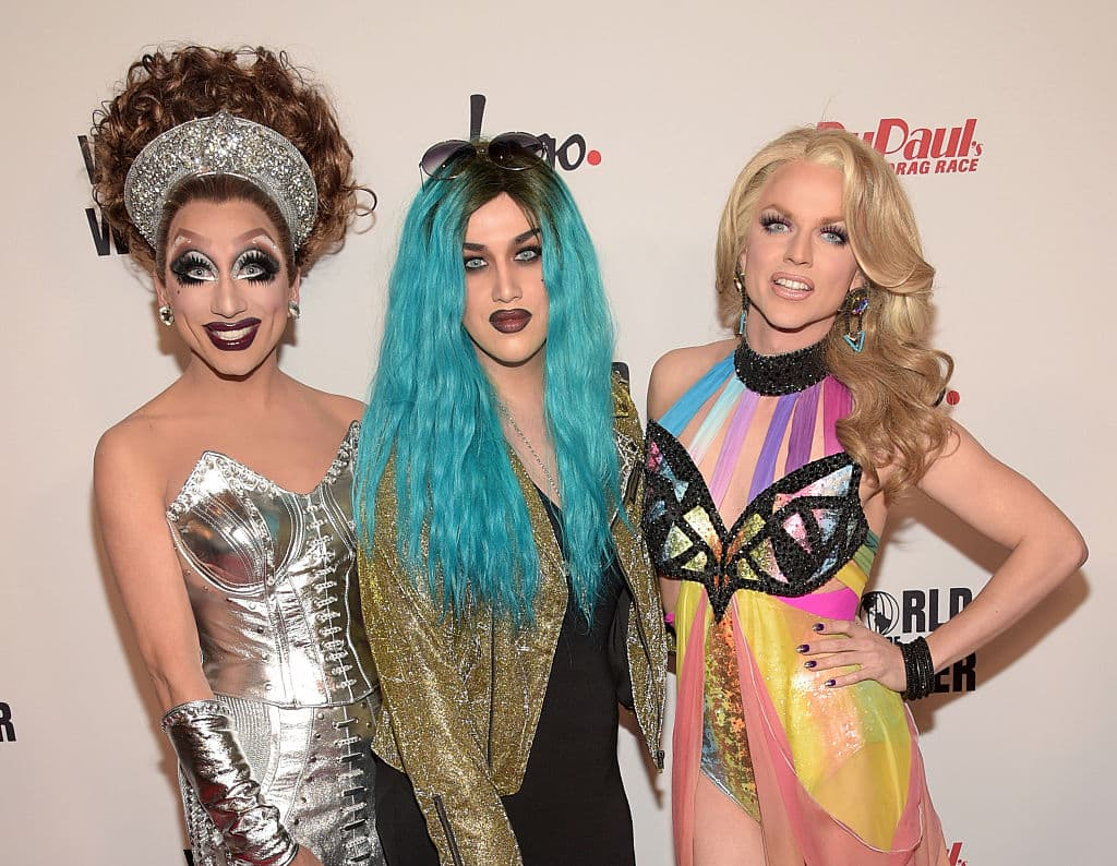 Adore (center) will be joined by other LGBTQ musicians in the issue as well (Source: Jason Kempin/Getty Images for Logo TV)