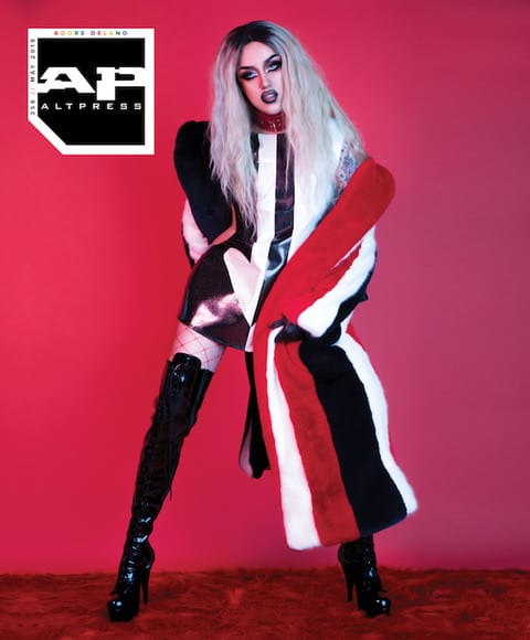 Adore will be gracing the cover of AltPress Magazine