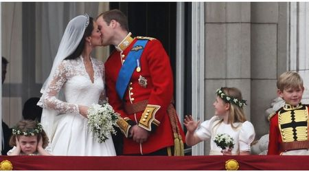 Remember the grumpy kid from William and Kate's wedding? Here's how happy she is now!
