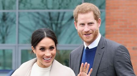 Something old: Meghan Markle's wedding ring is a small gift from the Queen
