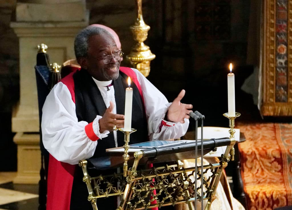he Most Rev Bishop Michael Curry, primate of the Episcopal Church (Photo by Owen Humphreys - WPA Pool/Getty Images)