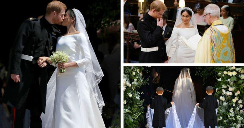 Givenchy Wedding Dress.The Stunning Bride Meghan Markle S Givenchy Wedding Dress