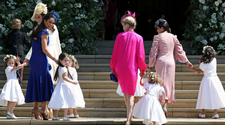 Custom-made footwear to frockcoats matching the groom: Here's what the kids at the royal wedding wore