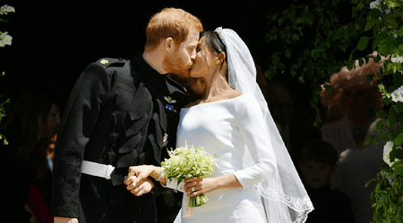 One precious moment you may have missed from Prince Harry and Meghan Markle's royal wedding