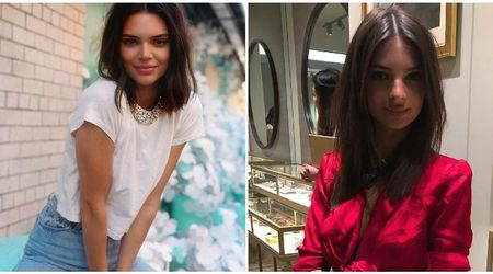 Kendall Jenner is the spitting image of Emily Ratajkowski in sexy new Instagram post