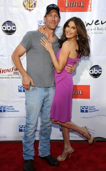 James Denton with and Teri Hatcher (Photo by Valerie Macon/Getty Images)