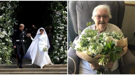 Harry and Meghan's wedding flowers were turned into bouquets for hospice patients