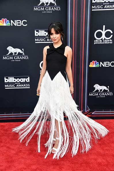 Recording artist Camila Cabello attends the 2018 Billboard Music Awards at MGM Grand Garden Arena on May 20, 2018 in Las Vegas, Nevada. (Photo by Frazer Harrison/Getty Images)