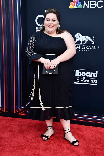 Chrissy Metz attends the 2018 Billboard Music Awards at MGM Grand Garden Arena on May 20, 2018 in Las Vegas, Nevada. (Photo by Frazer Harrison/Getty Images)