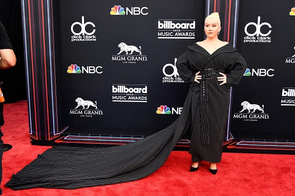 Recording artist Christina Aguilera attends the 2018 Billboard Music Awards at MGM Grand Garden Arena on May 20, 2018 in Las Vegas, Nevada. (Photo by Frazer Harrison/Getty Images)