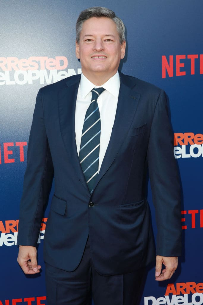 Netflix chief content officer Ted Sarandos(GettyImages)
