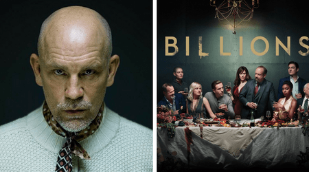 Stock up: John Malkovich marks his debut on Showtime's Billions