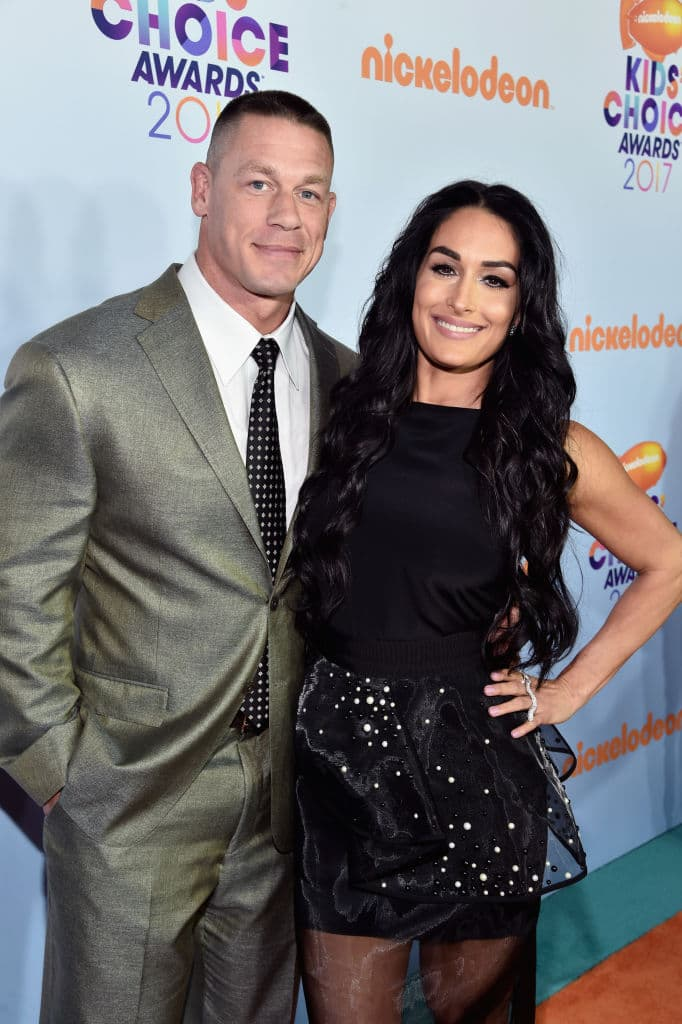 John and Nikki are basically back together  (Photo by Alberto E. Rodriguez/Getty Images)