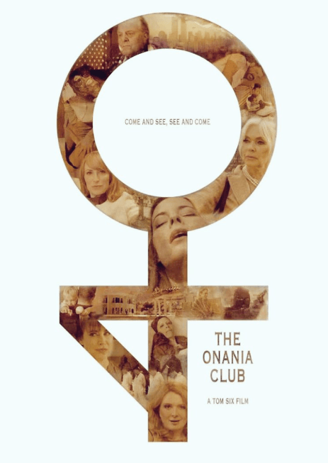 Poster of Tom Six's latest film The Onania Club (Twitter)