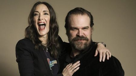 Hopper and Joyce from 'Stranger Things' dated back in high school, say actors Winona Ryder and David Harbour
