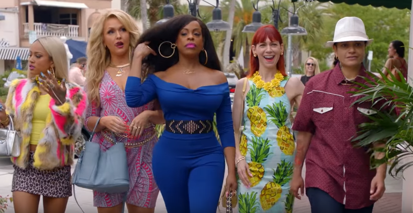 A scene from the new trailer of Claws Season 2. YouTube.