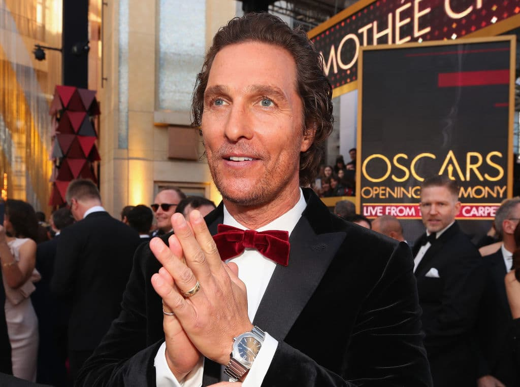 McConaughey recalled a funny incident from the sets of 'The Beach Bum' (Source: Christopher Polk/Getty Images)