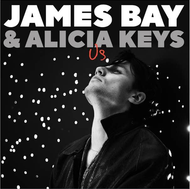 Cover art for the duet version of James Bay's 'Us'.