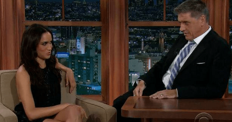 Meghan Markle's cringe-worthy interview with Craig Ferguson is all about her hairless body