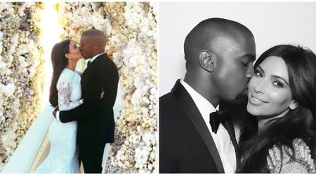 'I'm so lucky', gushes Kim Kardashian as she and Kanye West share loving messages to mark their fourth wedding anniversary