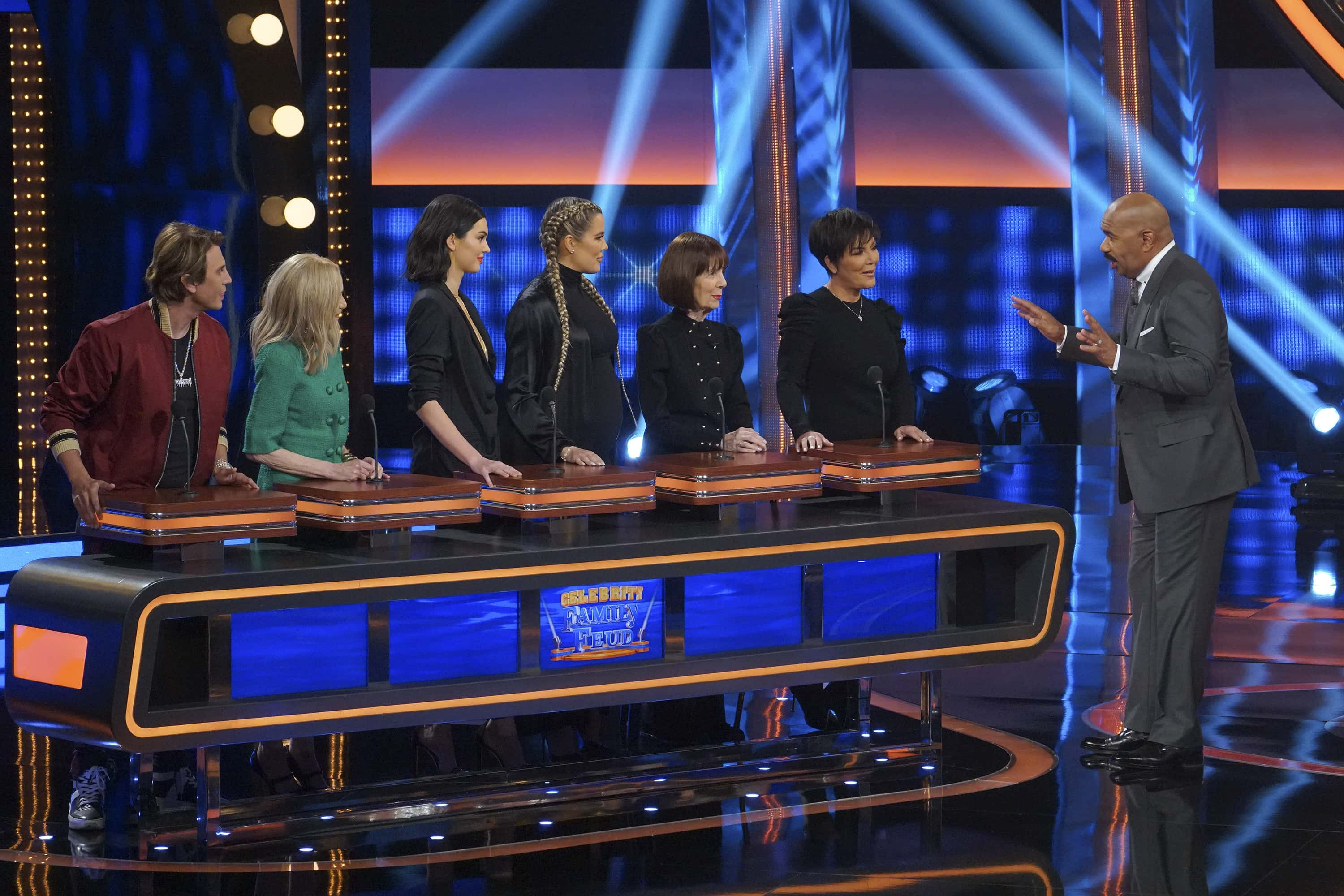 Celebrity Family Feud featuring the Kardashians