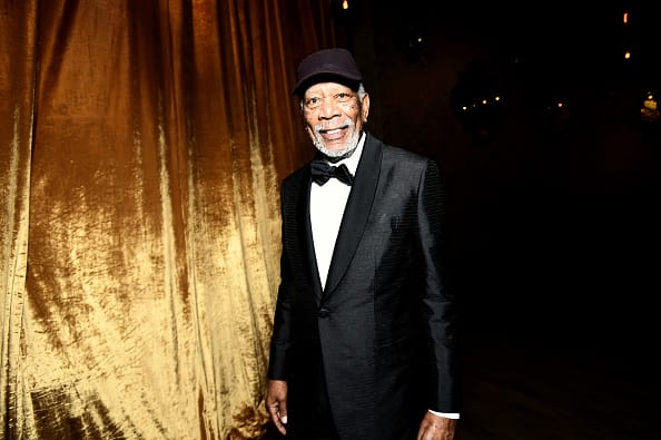 Morgan Freeman at the 24th Annual Screen Actors Guild Awards (Getty)