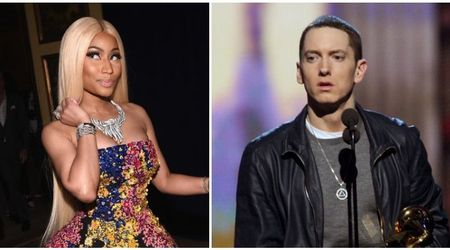 Nicki Minaj and Eminem are not dating, and it was all a joke