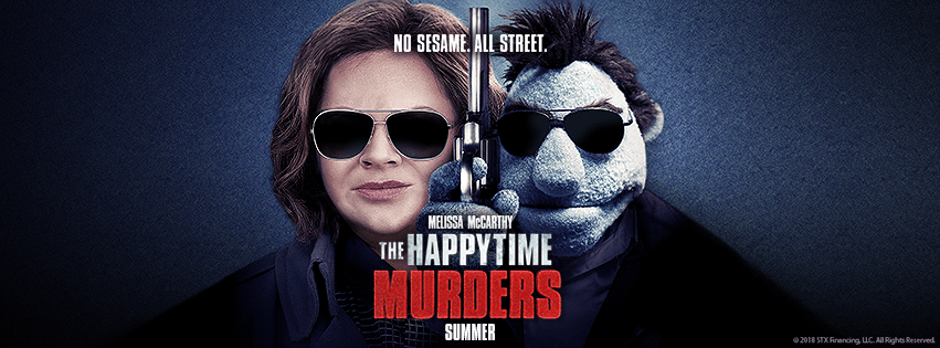 One of the promotional photos for 'The Happytime Murders' (Facebook)