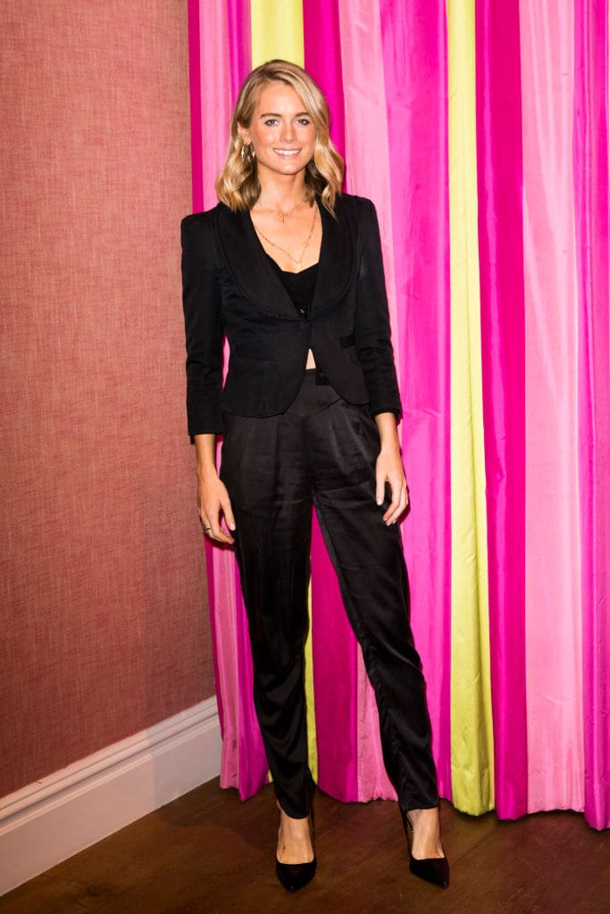 Cressida Bonas attends the UK premiere of 'Double Date' at The Soho Hotel on October 10, 2017 in London, England. (Photo by Tristan Fewings/Getty Images)