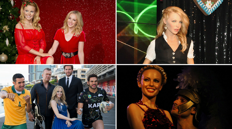 Minogue has four wax figures at Madame Tussauds in various likenesses (Getty Images)