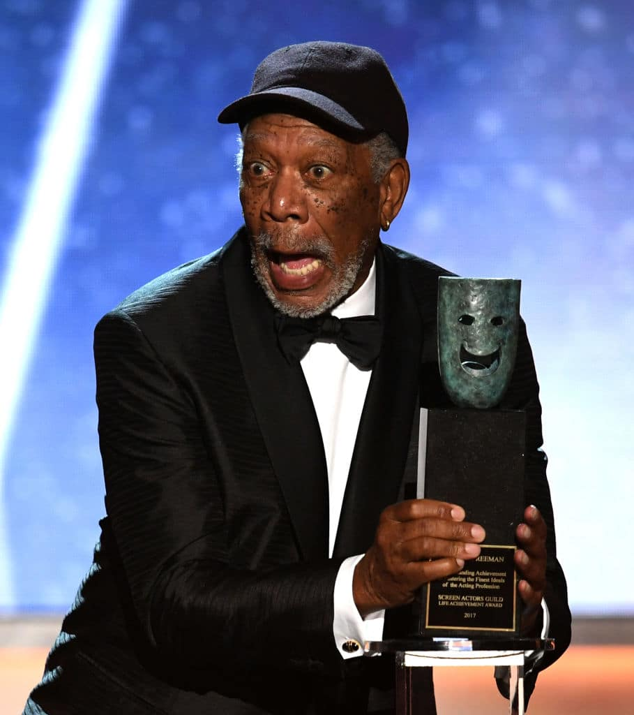 Morgan Freeman has been accused of sexual harassment by at least eight women (Getty Images)