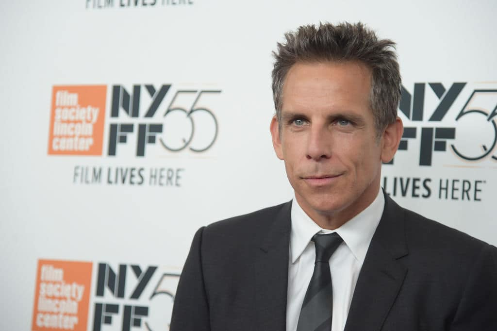 Ben Stiller attends the New York Film Festival premiere of The Meyerowitz Stories (New and Selected) at Alice Tully Hall on October 1, 2017 in New York City. Source: Jason Kempin/Getty Images for Netflix