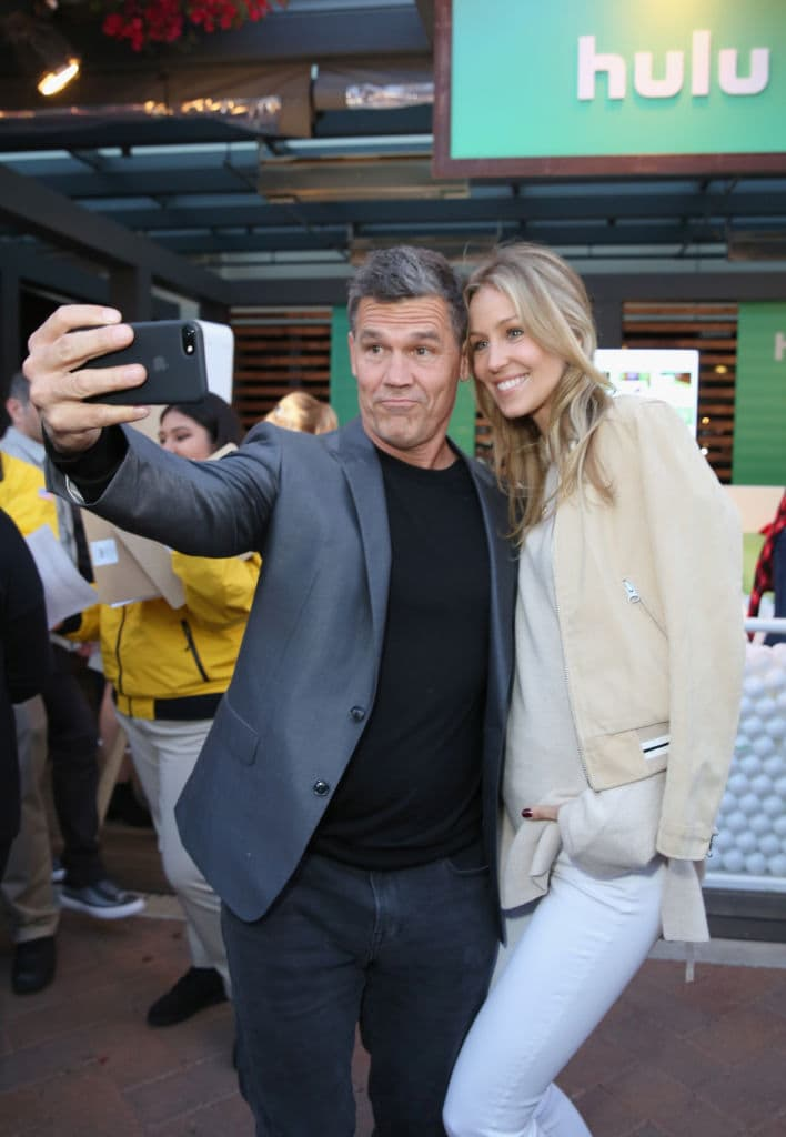 Josh Brolin (L) and Kathryn Boyd attend City Year Los Angeles' Spring Break: Destination Education at Sony Studios on April 28, 2018 in Los Angeles, California. (Photo by Rachel Murray/Getty Images for City Year Los Angeles)