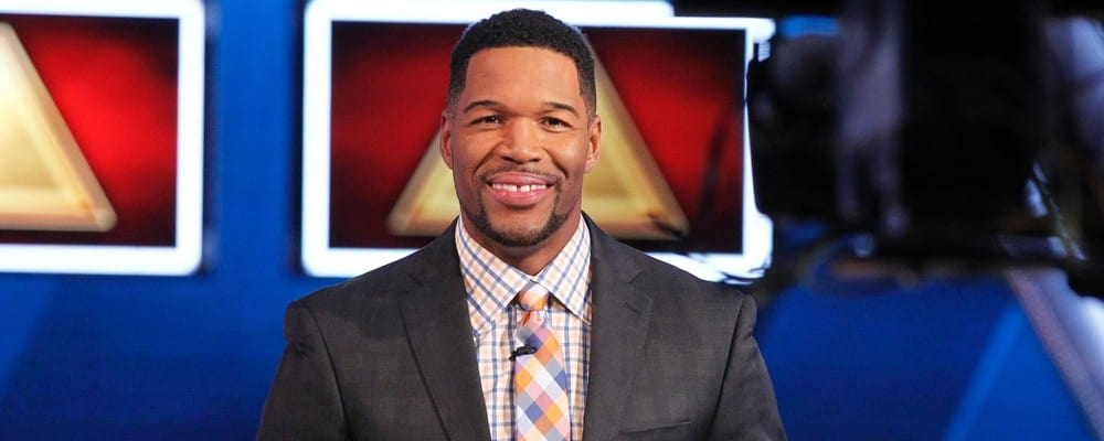 'Good Morning America's Michael Strahan hosts 'The $100,000 Pyramid.' (ABC)