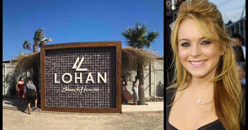 Lindsay Lohan opens ne...