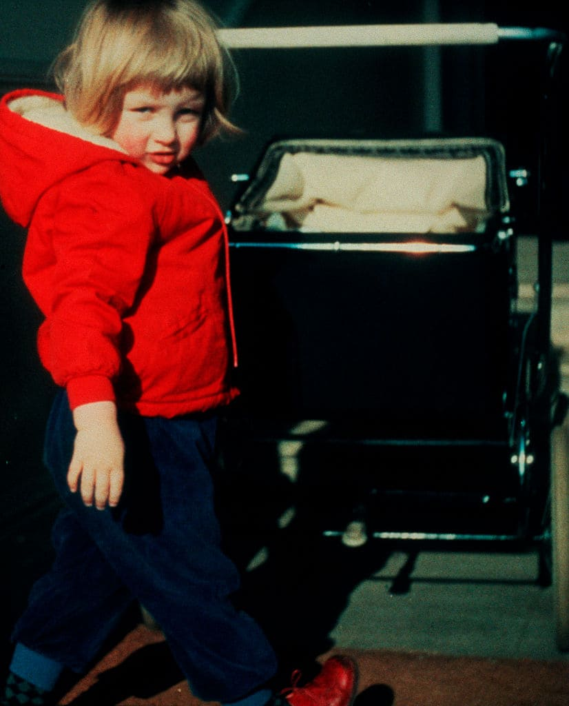 Lady Diana as a toddler (Photo by © Hulton-Deutsch Collection/CORBIS/Corbis via Getty Images)