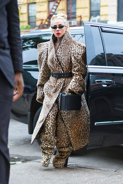 Hello! can you hear me? Lady Gaga's bad outfit #3 (Getty Images)