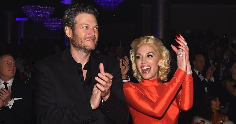 gwen stefani and blake shelton wedding photos