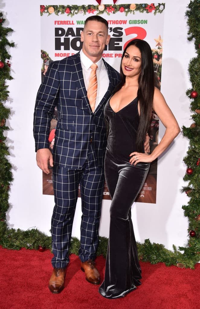John says he is ready to be a dad after reconciling with Nikki (Photo by Alberto E. Rodriguez/Getty Images)