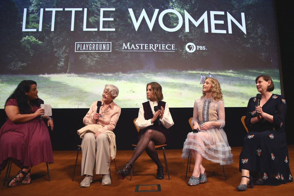 Angela Lansbury steals the show as Aunt March in Heidi Thomas's adaptation of 'Little Women' (Getty Images)