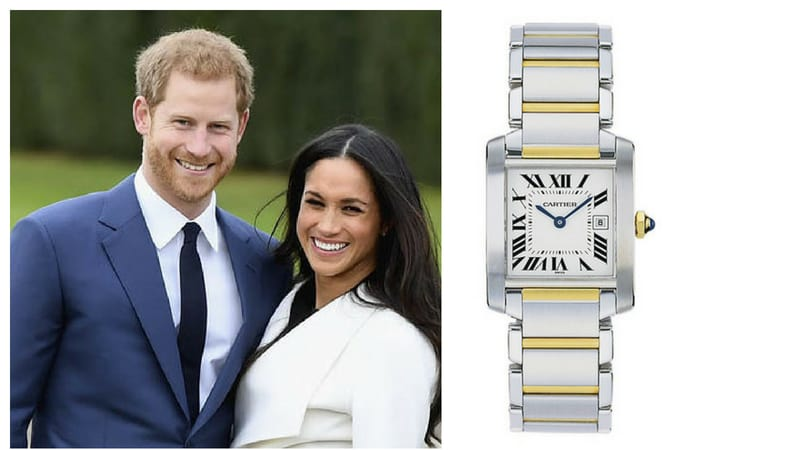 The Duchess of Sussex had picked this watch when she was an actress on the series Suits, she wanted to celebrate a milestone in her career