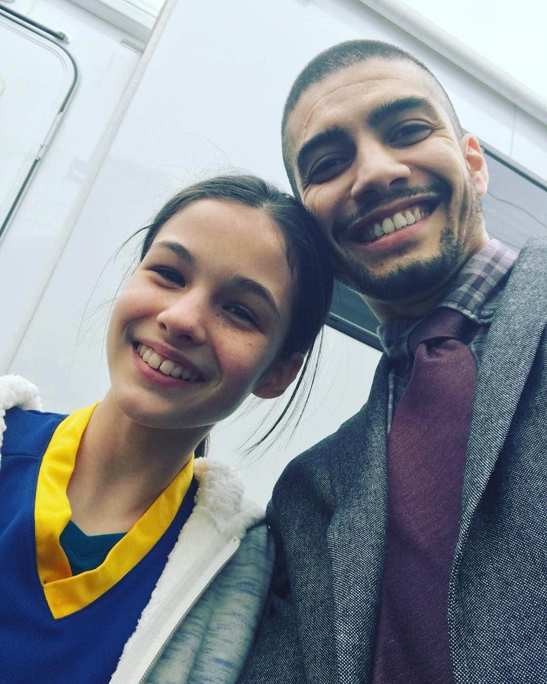 On 'Arrow' Rick's Rene is father to young Zoe Ramirez (Instagram)