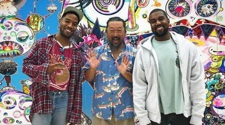 Kid Cudi reveals upcoming Kanye collaboration 'Kids See Ghosts' cover art by Takashi Murakami