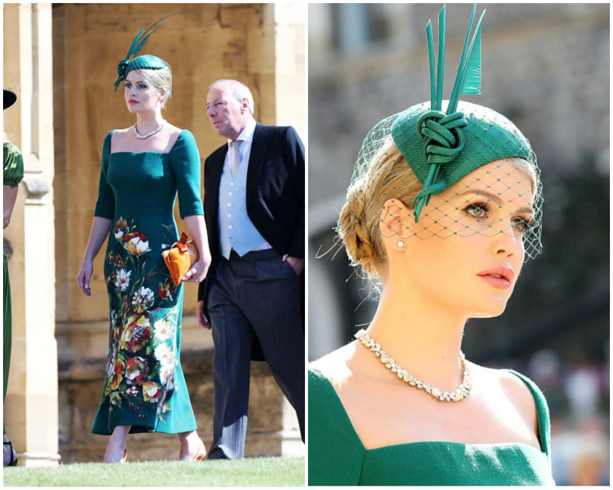 Kitty Spencer turned heads like no other at the wedding of the year last month, the nuptials of Prince Harry and Meghan Markle (Getty Images)