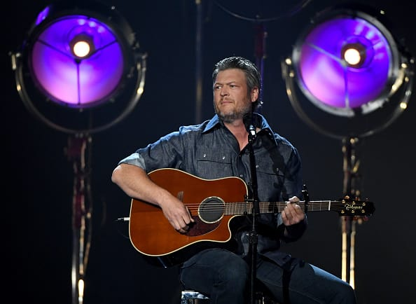 Blake Shelton, alongwith several other Country Music superstars will perform at the Nissan Stadium (Getty Images)