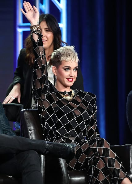 Katy Perry will be back, with the other star judges, to help young talents receive stardom. (Getty Images)